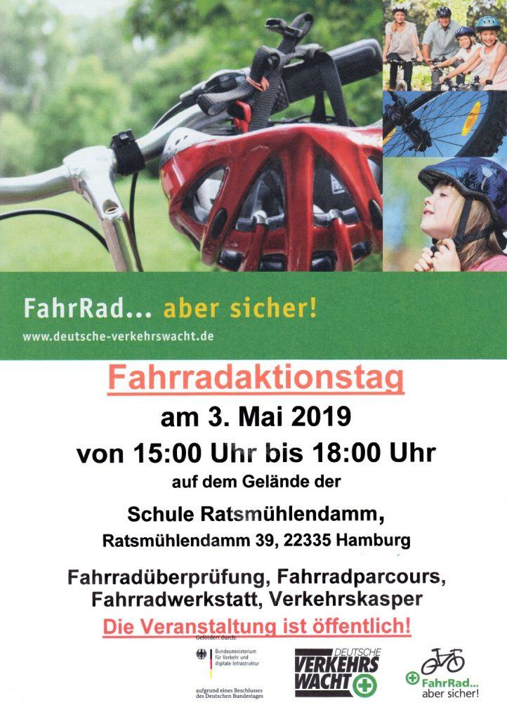 03.05.2019 Fahrradaktionstag Schule Rathsmühlendamm
